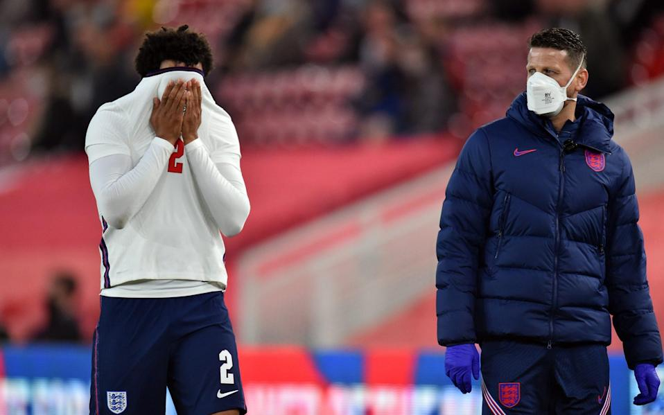 Bukayo Saka fires England to win over Austria - but Trent Alexander-Arnold limps off late on - REUTERS