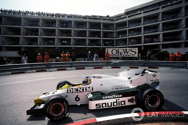 "1984: Williams-Honda FW09 <span class=""copyright"">Sutton Images</span>"