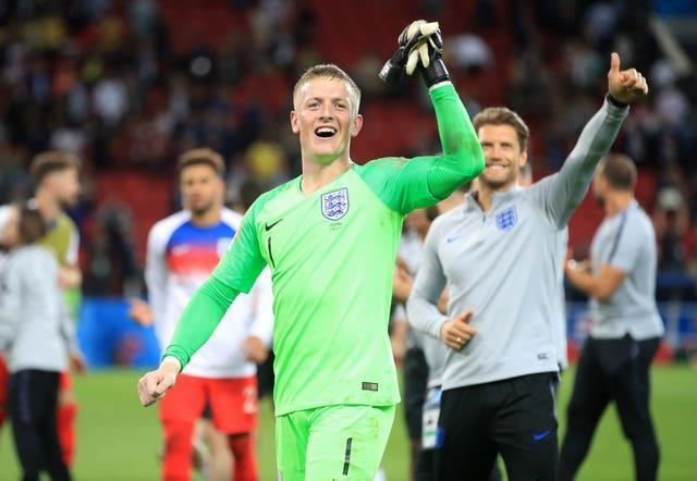 Jordan Pickford has been England's number one since 2018