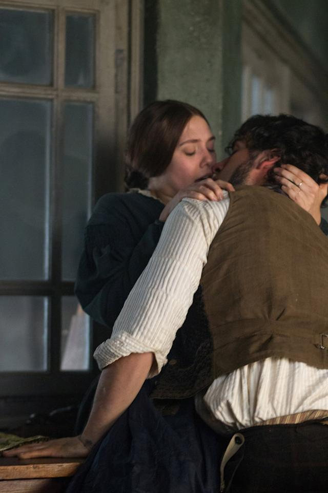 """<p>Based on Émile Zola's classic novel <strong>Thérèse Raquin</strong>, this erotic thriller stars Elizabeth Olsen as Thérèse, a sexually represed woman stuck in a loveless marriage in 1860s Paris whose life changes forever after she meets a childhood friend and coworker of her husband, with whom she embarks on an illicit affair. </p> <p><a href=""""http://www.hulu.com/movie/in-secret-17ac5a85-35f5-4a7f-bace-7ea5ae61cbdc"""" target=""""_blank"""" class=""""ga-track"""" data-ga-category=""""Related"""" data-ga-label=""""http://www.hulu.com/movie/in-secret-17ac5a85-35f5-4a7f-bace-7ea5ae61cbdc"""" data-ga-action=""""In-Line Links"""">Watch <strong>In Secret</strong> on Hulu</a>.</p>"""