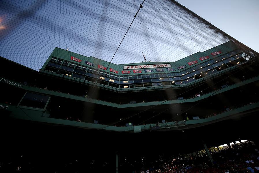 The Boston Red Sox are being sued for $9.5 million by a fan who suffered serious injuries after being hit by a foul ball in 2014. (AP)