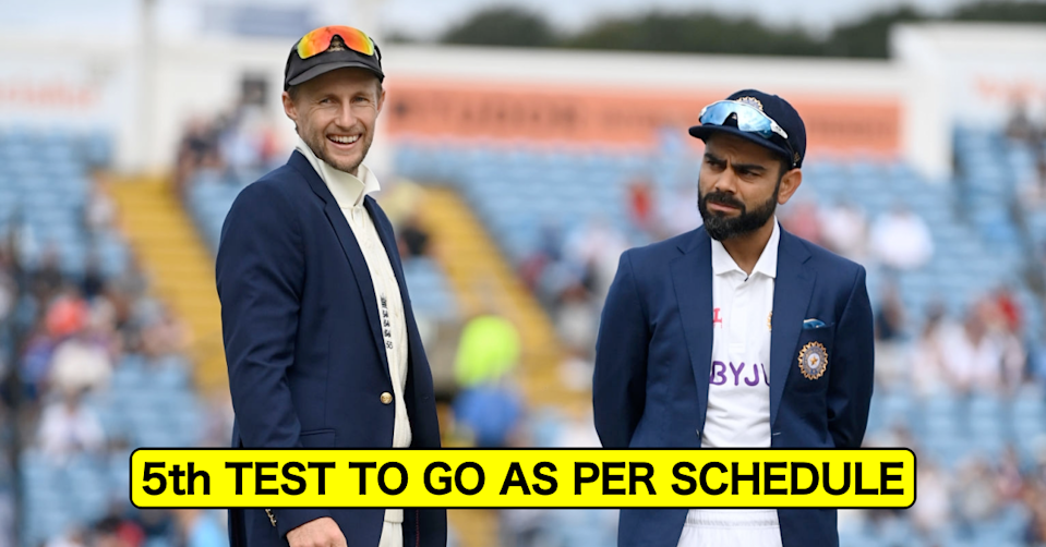 England vs India, 2021: 5th Test To Go As Per Schedule After Indian Players Return Covid-19 Negative Tests, Says ECB