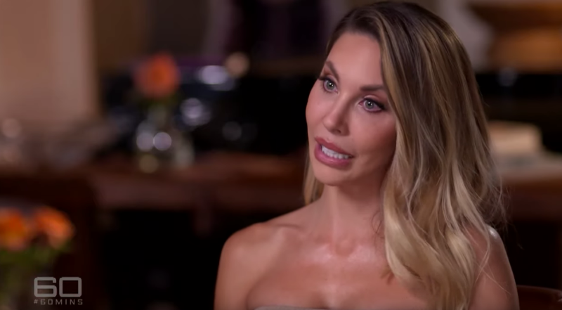 Olivia's daughter Chloe Lattanzi was visibly emotional as she told 60 Minutes reporter Liz Hayes that she rarely brings up her mother's cancer in conversation with her mum. Photo: Channel Nine