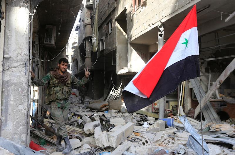 Syrian Troops Liberate Southern Damascus Areas