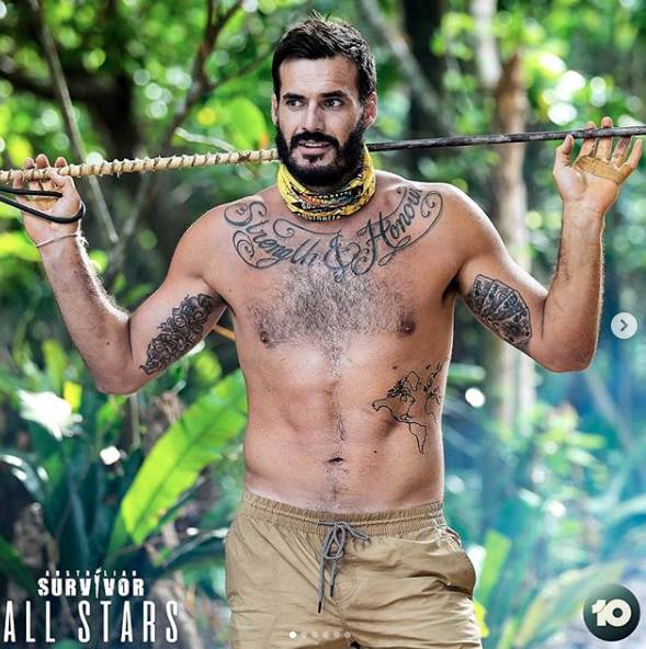 Die-hard fans will recognise Locky from his two stints in the jungle on Survivor. Photo: Channel 10