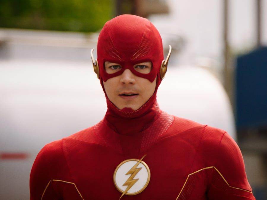"""Grant Gustin in """"The Flash"""