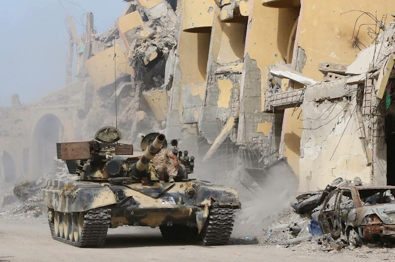 13 foreigners freed in Sirte by Libyan government forces