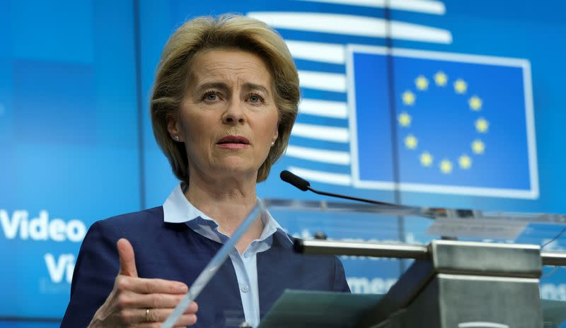 EU calls for global alliance to buy COVID-19 vaccines up front