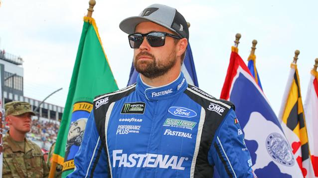 Ricky Stenhouse Jr. takes Kyle Petty, Rutledge Wood racing at Riverside