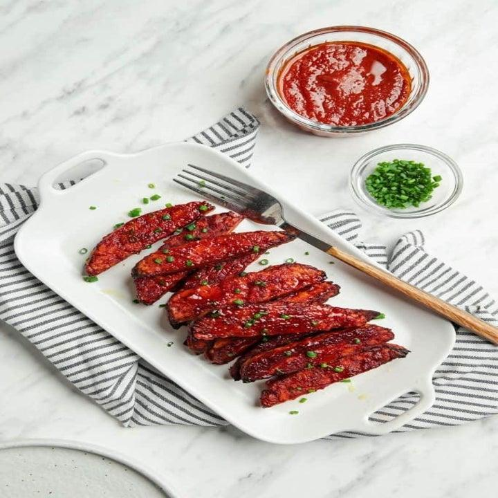 You knew this roundup was going to have some sort of ribs, right? Make your own veganized edition by following this recipe, which uses tempeh.