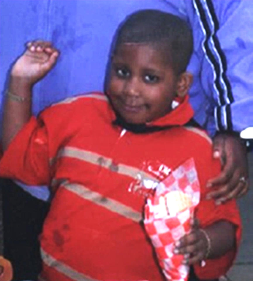 A photo released Oct. 24, 2008, by the Chicago Police Department shows 7-year-old Julian King. Chicago Police issued an Amber Alert Friday, Oct. 24, 2008 for King, who police say may be related to singer and Oscar-winning actress Jennifer Hudson. Julia Hudson pleaded for the safe return of her 7-year-old son, Julian King, on Saturday Oct. 25, 2008, a day after Julia and Jennifer Hudson's mother and brother were found shot to death at the family home in the Englewood neighborhood of Chicago. (AP Photo/Chicago Police Department)