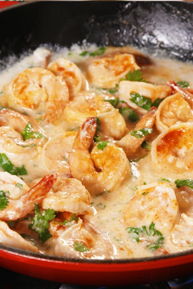 """<p>Put the lime in the coconut and eat it all up.</p><p>Get the recipe from <span>Delish</span>.</p><p><em><strong>BUY NOW: Le Creuset Cast-Iron 12"""" Skillet, $200; </strong></em><em><strong><a rel=""""nofollow noopener"""" href=""""https://www.amazon.com/Creuset-Signature-Handle-Skillet-4-Inch/dp/B00B4UOTBQ/"""" target=""""_blank"""" data-ylk=""""slk:amazon.com"""" class=""""link rapid-noclick-resp"""">amazon.com</a>.</strong></em><br></p>"""