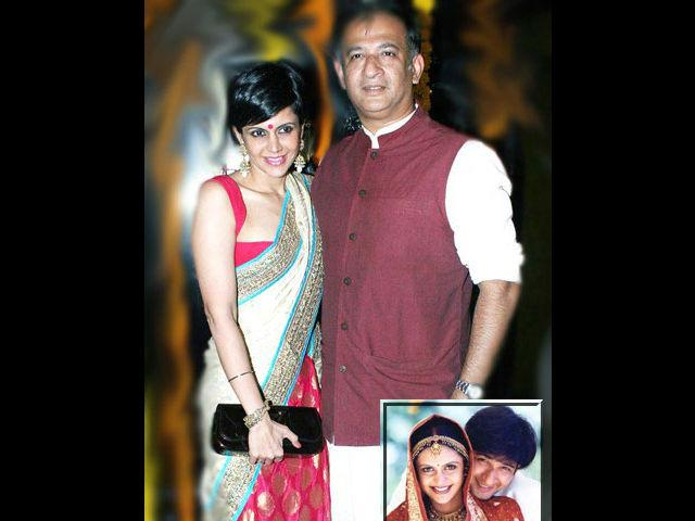 <b>Mandira Bedi-Raj Kaushal</b> <br> If you have started to feel a little disillusioned witnessing Valentine's Day marriage with so many break-ups, here is a couple with much more hope. TV actor and Cricket presenter Mandira Bedi and Bollywood Director Raj Kaushal tied the knot on 14th of February, 1999. They are happily married for the last 13 years with a gorgeous son and of course their undying love for each other.