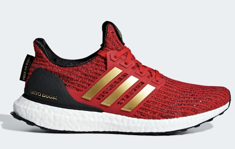 5b8ca57ac5fd7 Adidas x Game of Thrones House of Lannister Ultraboost sneakers