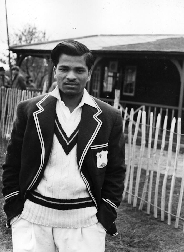 West Indies slow bowler Sonny Ramadhin.  Original Publication: People Disc - HH0103   (Photo by Topical Press/Getty Images)