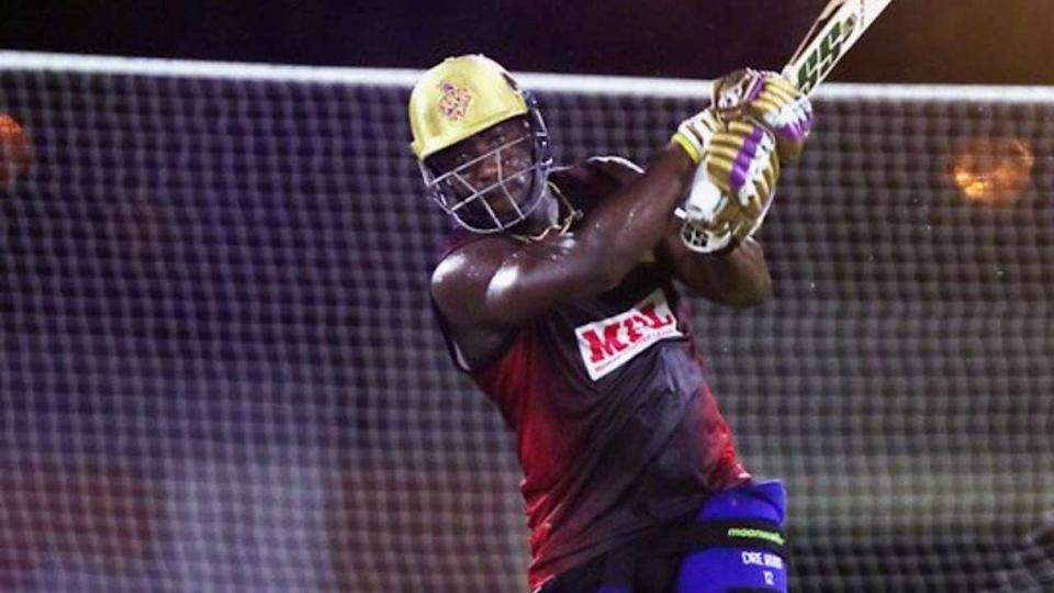 Andre Russell KKR practice
