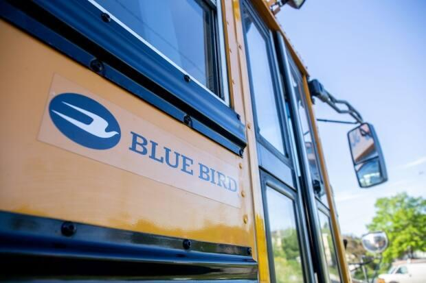 Newfoundland and Labrador budgeted $10 million at the start of the school year for about 100 extra buses to handle COVID-19 busing restrictions. Now the operators who bought some of those buses say they're stuck with excess inventory. (Lindsay Bird/CBC - image credit)
