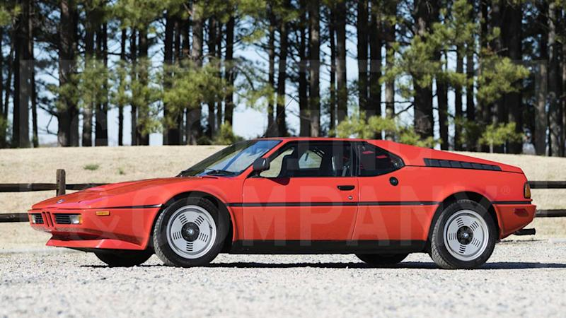 Turn That Wall Poster Into Reality With This 1981 BMW M1
