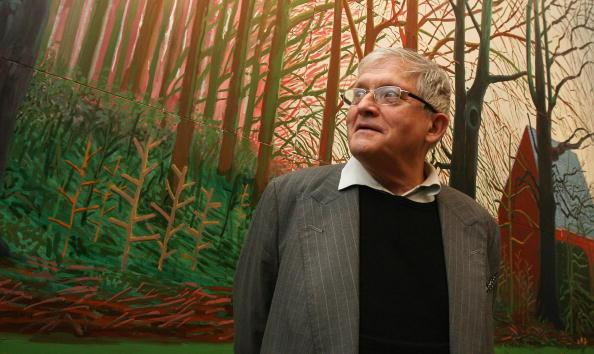 David Hockney's new work will be shown from 23 May to 26 September at the Royal Academy, LondonGetty