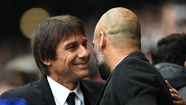 Manchester City's willingness to invest and back Pep Guardiola means they can dominate in the Premier League, says Chelsea's Antonio Conte.