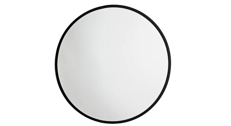 Kanso Round Metal Framed Mirror