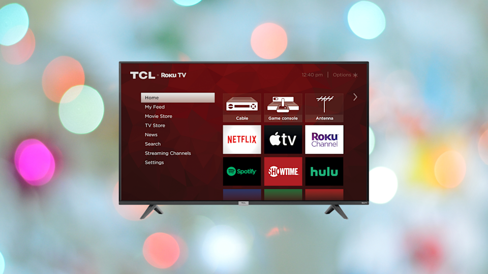Save 33 percent on this TCL 40-inch HD Smart LED Roku TV (40S325). (Photo: Amazon)
