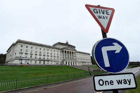 FILE PHOTO - A general view of Parliament Buildings at Stormont in Belfast