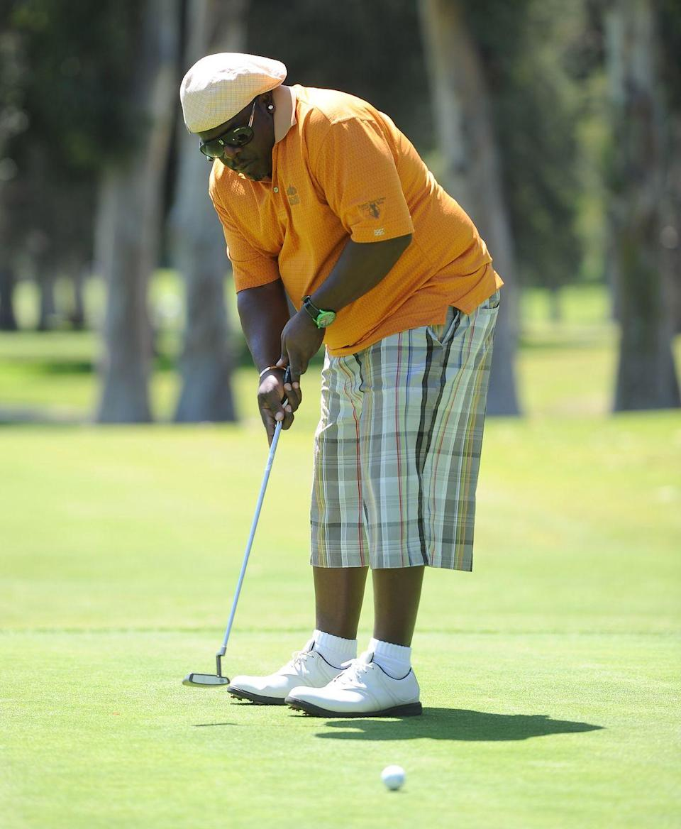 <p>Cedric the Entertainer attends the Fourth Annual George Lopez Celebrity Golf Classic in May 2011.</p>