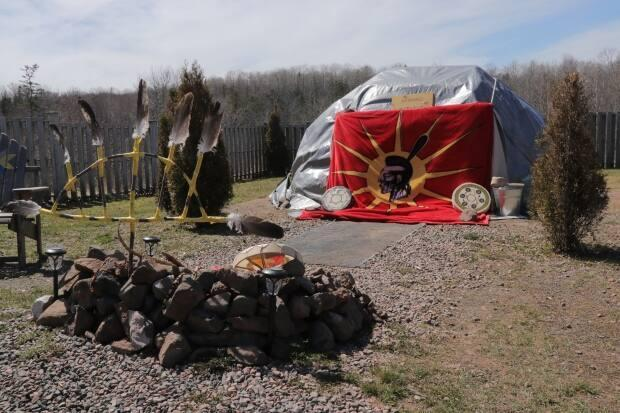 The sweat lodge is a deeply spiritual purification ceremony.
