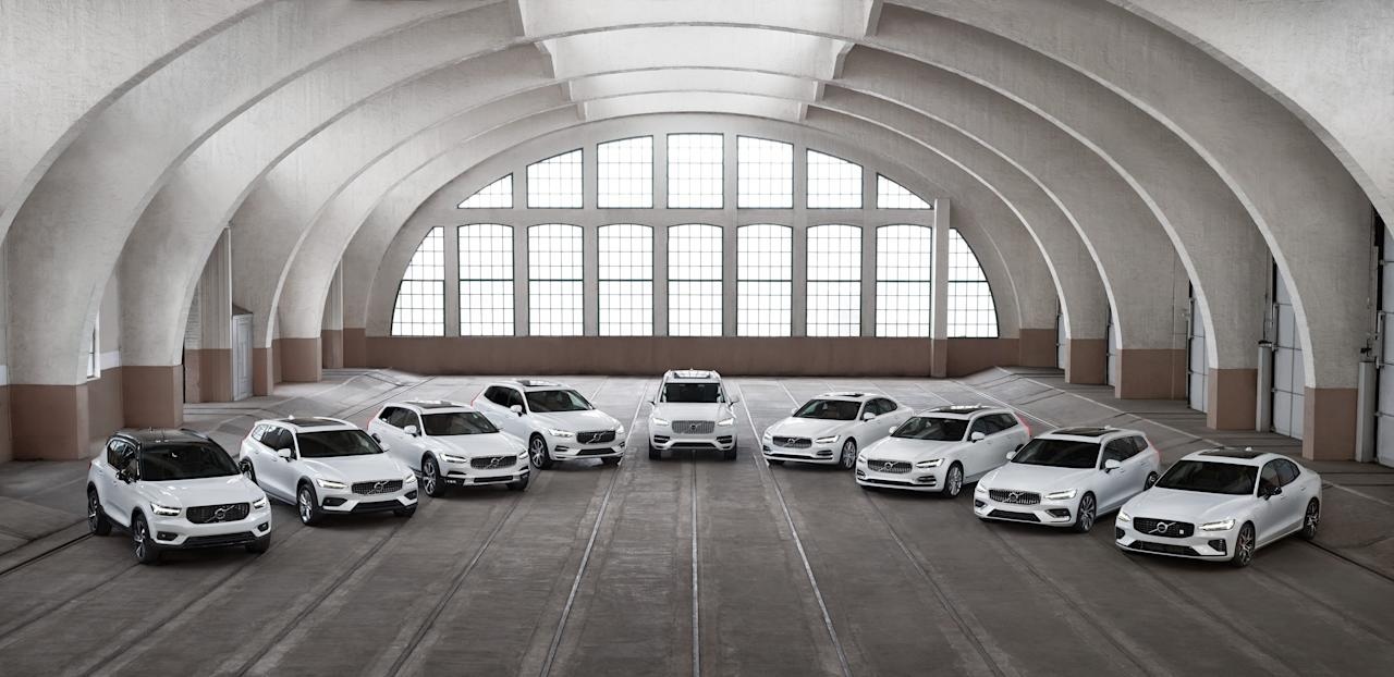 "<p>Once-boring Volvo has revamped <a href=""https://www.caranddriver.com/volvo"" target=""_blank"">its entire lineup</a> over the last few years, and the results are impressive. The automaker's SUVs, wagons and sedans feature sleek exterior styling and contemporary, luxurious interiors that rival anything from Germany or Japan. Safety continues to be a top Volvo priority, only now it's joined by modern technology like the Sensus touchscreen display that controls all major interior functions and a semi-autonomous driving function blending adaptive cruise control and a self-steering lane-keeping system. </p><p>For the uninitiated, the lineup is segmented into three distinct size classes denoted by the numbers 40, 60, and 90; sedans are labeled by the prefix ""S,"" wagons carry the ""V"" label, and SUVs use ""XC."" So, in practice, this means the XC40 is the brand's smallest SUV, the XC90 is the largest. The S60 sedan is smaller than the S90 sedan, as is the V60 wagon to the V90.  </p><p>Click through to see Volvo's entire lineup-and see why it is no longer the quirky outsider among top-tier luxury brands it used to be. </p>"
