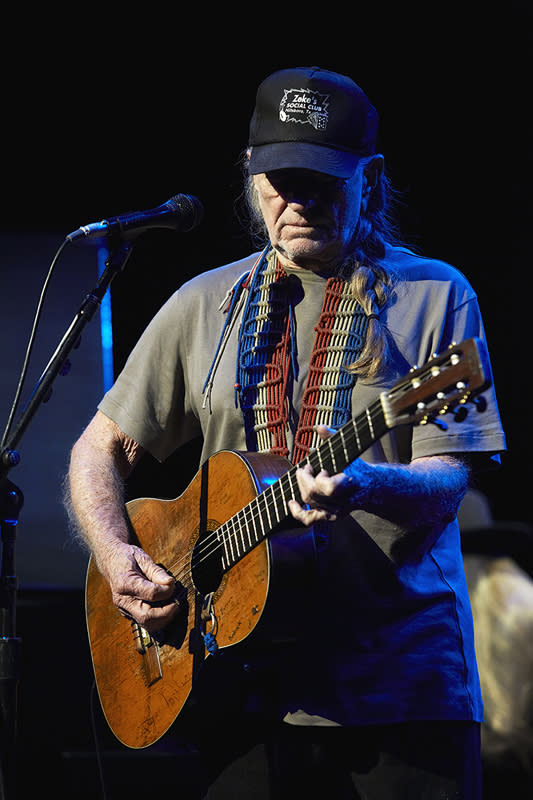 Willie Nelson, The Shubert Theater, New Haven, CT