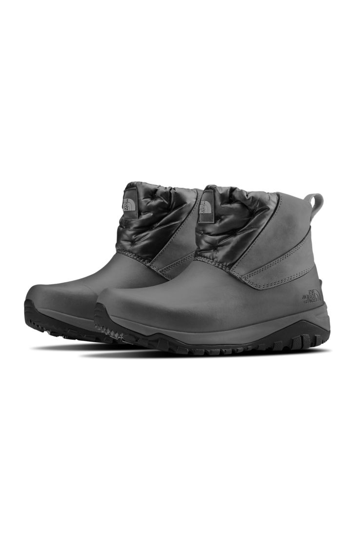 """<p><strong>The North Face</strong></p><p>thenorthface.com</p><p><strong>$87.00</strong></p><p><a href=""""https://go.redirectingat.com?id=74968X1596630&url=https%3A%2F%2Fwww.thenorthface.com%2Fshop%2Fwomens-yukiona-ankle-boots-nf0a3k3a-c1&sref=https%3A%2F%2Fwww.marieclaire.com%2Ffashion%2Fg3388%2Fsnow-boots-for-women%2F"""" rel=""""nofollow noopener"""" target=""""_blank"""" data-ylk=""""slk:SHOP IT"""" class=""""link rapid-noclick-resp"""">SHOP IT</a></p><p>The North Face's lightweight ankle boots are perfect for those of us who don't like to attract too much attention to our feet—especially while wearing a <a href=""""https://www.marieclaire.com/fashion/advice/g475/winter-coats-jackets/"""" rel=""""nofollow noopener"""" target=""""_blank"""" data-ylk=""""slk:statement coat"""" class=""""link rapid-noclick-resp"""">statement coat</a>.</p>"""
