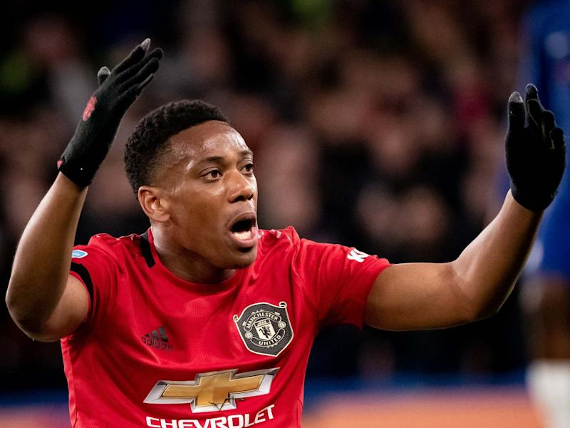 Martial has come under criticism since changing positions: Getty