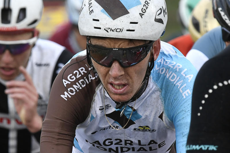 Cycling - Bardet 'deeply sorry' for Paris-Nice expulsion