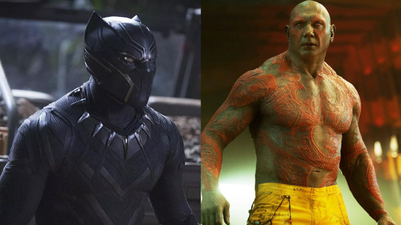 Chadwick Boseman almost played Drax instead of Black Panther in the MCU. (Credit: Marvel)