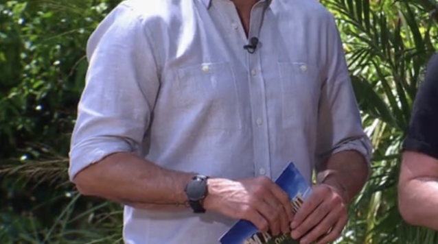 Every year I'm a Celebrity viewers ask why Ant and Dec cover their watches during Bushtucker trials (ITV)