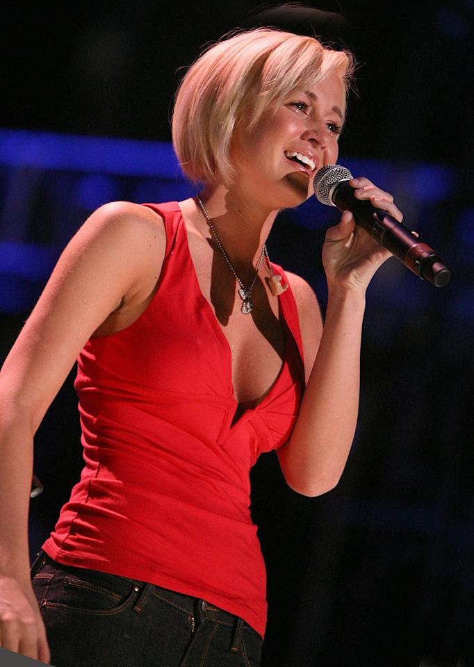 "<a href=""/kellie-pickler/contributor/2208126"">Kellie Pickler</a>, the country cutie, didn't exactly win over the <a href=""/american-idol/show/34934"">""American Idol,""</a> judges or the audience with her brains. Her most memorable moments on the show were the times she struggled with the pronunciation and/or meaning of certain words, including ""salmon,"" ""minx,"" and ""ballsy"" -- the latter of which she apparently thought was a noun, not an adjective. She also made headlines during the show the due to her family troubles (her father was incarcerated) and after the show (her suspiciously inflated chest and un-Mensa-like performance on the rhetorically titled ""Are You Smarter Than A 5th Grader?""). But Kellie should get some credit for all of the musical success she's enjoyed. The fifth-best-selling ""Idol"" 'loser' of all time, she's not only outsold her former competitors Elliott Yamin and Katharine McPhee, but became the biggest new country artist of 2006 with her country-chart-topping debut, ""Small Town Girl."" Kellie recently won three awards at the live 2008 CMT Music Awards ceremony, taking home a trophy in every category she received a nomination in. And that's no dumb luck."