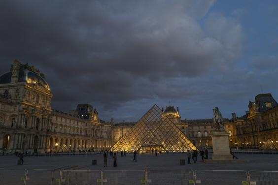 The Louvre Museum was closed until further notice on 13 March (Getty Images)