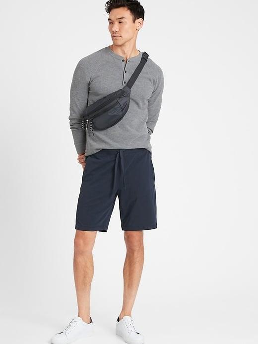 <p>Don't these <span>Banana Republic Cozy Lounge Shorts</span> ($50) look better than gym shorts for just lounging on the sofa?</p>