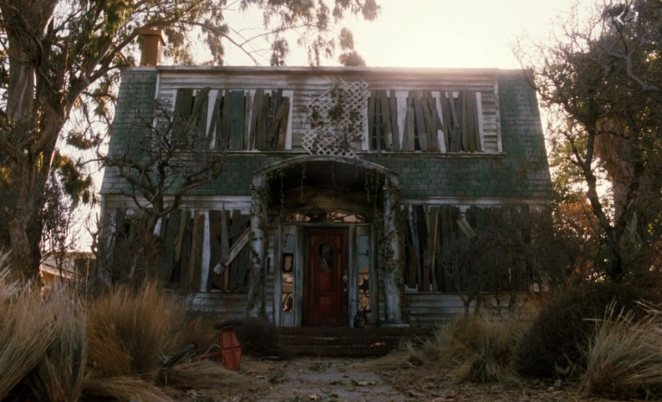 <p>Hint: Nightmares became reality in this house.</p>