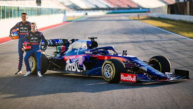 "AlphaTauri <span class=""copyright"">Red Bull Content Pool</span>"