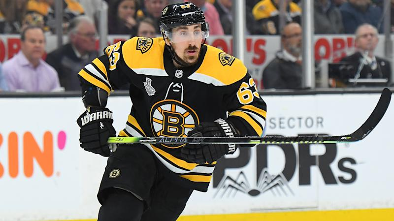 Brad Marchand brings 'A' game for the B's