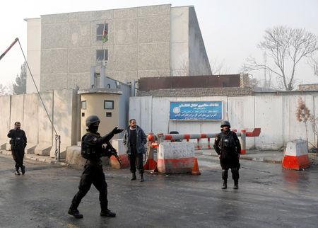 Dozens dead in sustained terror attack on government building in Afghanistan