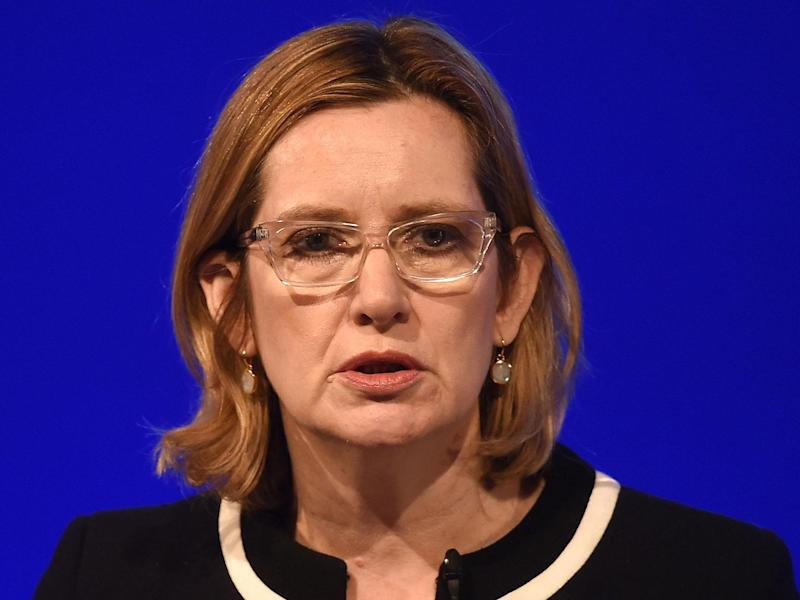 The Home Secretary has announced plans for a national police hub to tackle online hate crime: Joe Giddens/PA