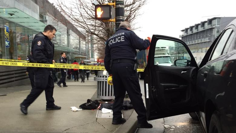 Charges laid in string of stabbings during Vancouver rush hour