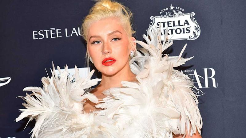 Christina Aguilera Shares Photo of Her 'Blended' Family