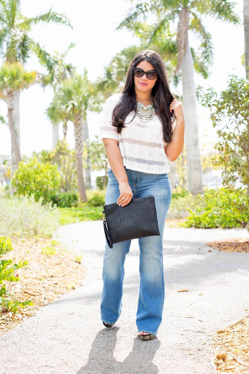 how to make skinny jeans from flares