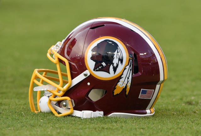 Redskins owner Daniel Snyder has been adamant about maintaining the name and logo of his NFL team despite mounting pressure to change them. (AP)