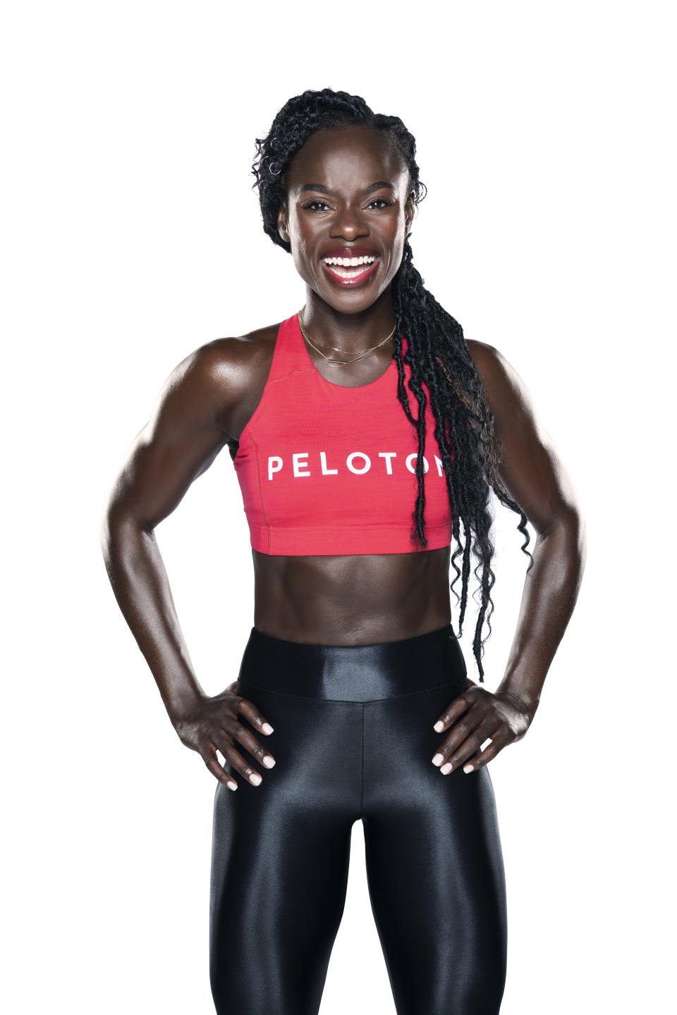 Oyeneyin is a popular Peloton instructor and founder of a the S.P.E.A.K. series. (Photo: Courtesy of Peloton)