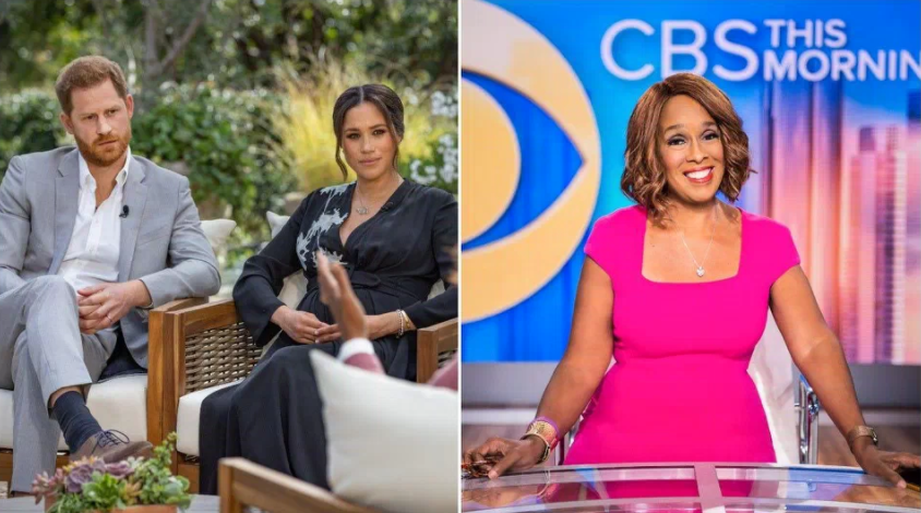 gayle king cbs this morning friend of sussexes
